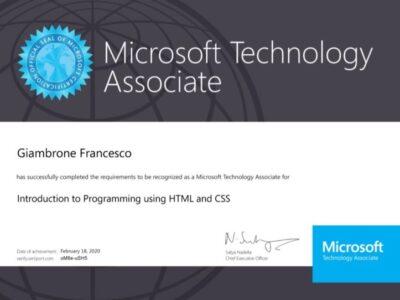 Certificazione HTML & CSS